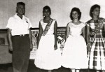 Beauty pageant: Unknown, Ivette Pereira, Dolly Benjamin, unknown