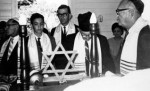 Bar Mitzvah of Bernhard Wellisch: Kurt Wellisch, Moses Arnoldi, Manfred Codik
