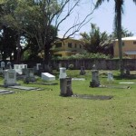 Panoramic view of the cemetery (2010)