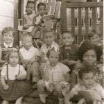 Kindergarten children (1950s)