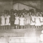 Children singing (1950s)