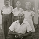 Front row: Joschi Arm; Back row: Muni, Johnny, Miriam Arm