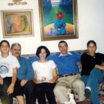 Leo with children: David, Leo, Karen, Ernesto and Sarah