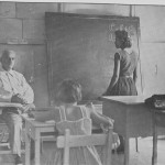 Dr. Walter Robitschek in his classroom