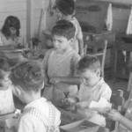 Kindergarten children (1940s)