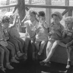 Kindergarten children(1940s)