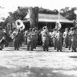 Puerto Plata military band playing in Sosua