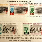 Dominican Republic issues stamps commemorating refugees