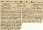 Odd Exodus saved these  Jews from Nazis