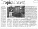 Tropical Haven - The Globe