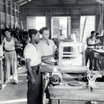 53  Mechanic shop - Julius and Otto Papernik with workers