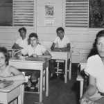 Alma Kibel, Nicolas Roman and others in school