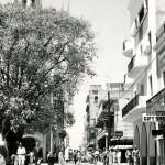 Busy commercial street - Calle El Conde
