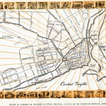 Map of Ciudad Trujillo in the 1940s