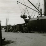 Loading ships at the Ozama port
