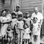 Otto Kibel on the left with Sosua children