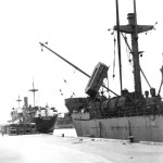 Ships at the Ozama port