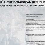 Sosua, The Dominican Republic: A Refuge from the Holocaust in the Tropics.  Back page