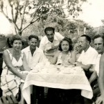 Else and Walter Biller, Josef Krossberg, Dora and Heini sontag, Eli and Susi Topf