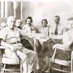 Richard Strauss, Richard Wold, Ilse HErzberg, Jenny Wolf, Bertold Reuter, Alice Strauss